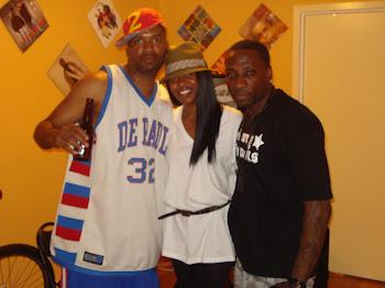 DJ Mo, Sophia, & Johnny Famous