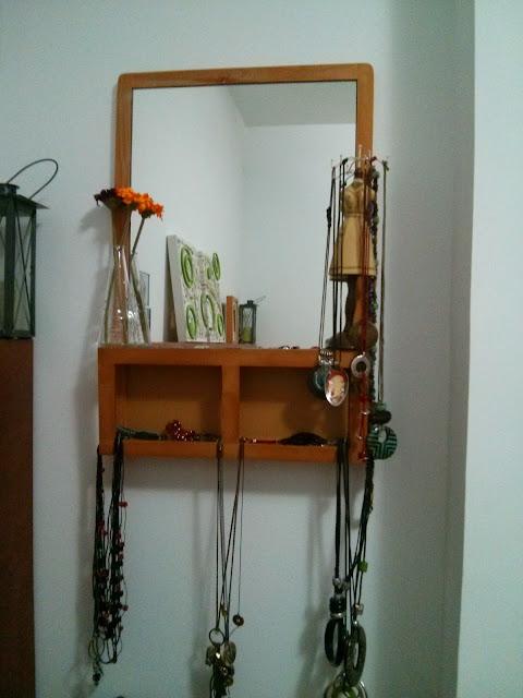 Joyero de pared con la pizarra luns mi llave allen - Caja joyero ikea ...