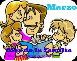 Marzo : mes temático de la familia