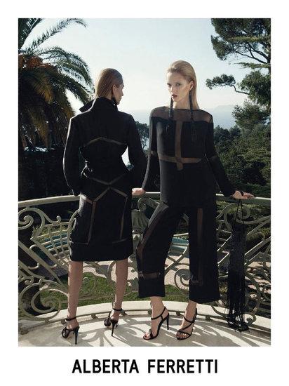 Alberta Ferretti spring 2012 ad campaign
