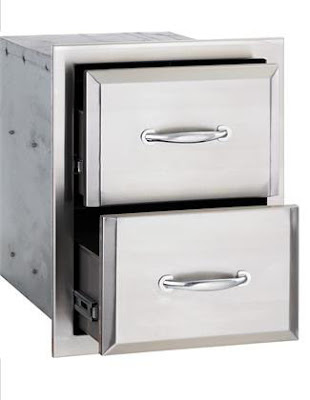 AGAPE by RCS Stainless Steel Double Drawer