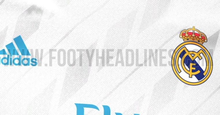 Real Madrid   Home Kit Leaked Footy Headlines
