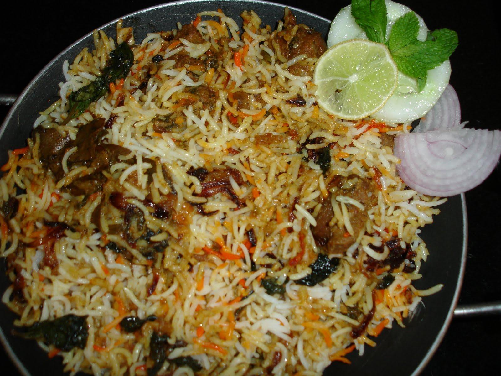Seetha's Kit... Hyderabadi Chicken Biryani