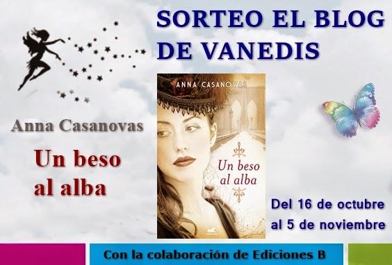"Sorteo en ""El blog de Vanedis"""