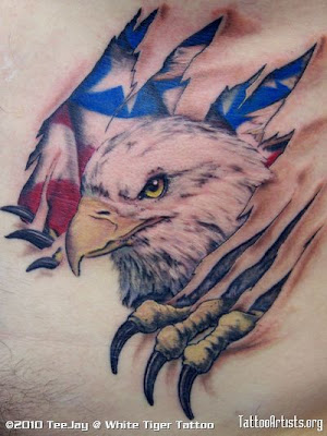 eagle tattoo design