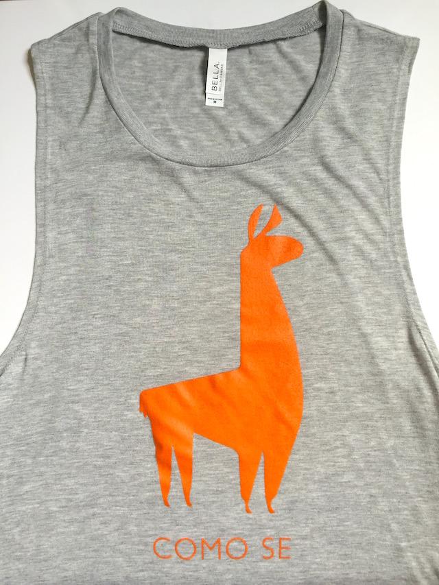 Como Se Llama Adorable Llama Tank Top