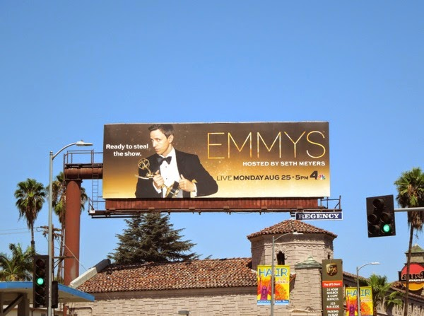 Emmys 2014 Ready to steal the show billboard