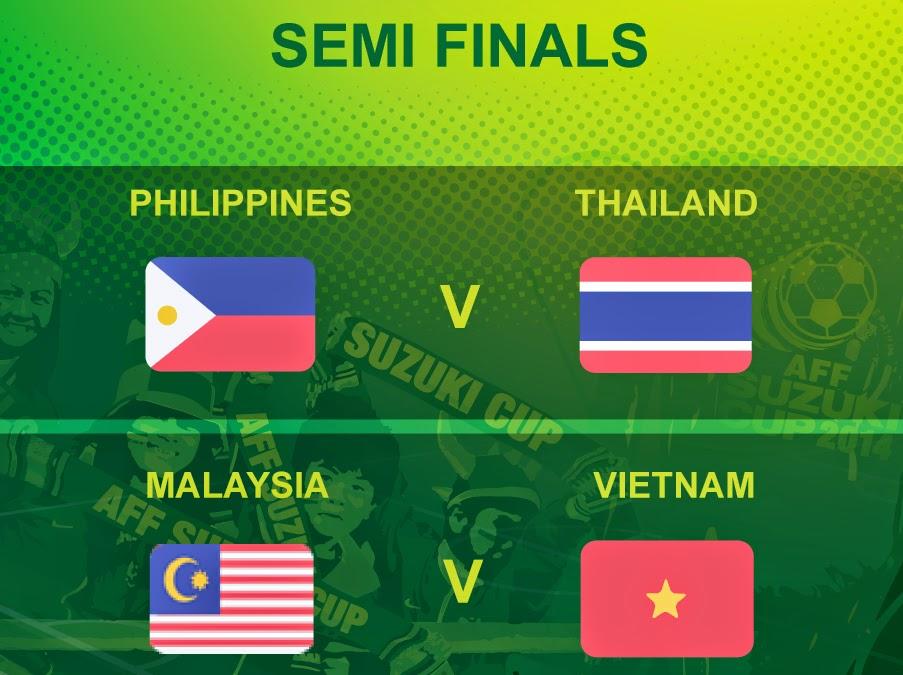 Jadwal Babak Semifinal Piala Aff Suzuki Cup
