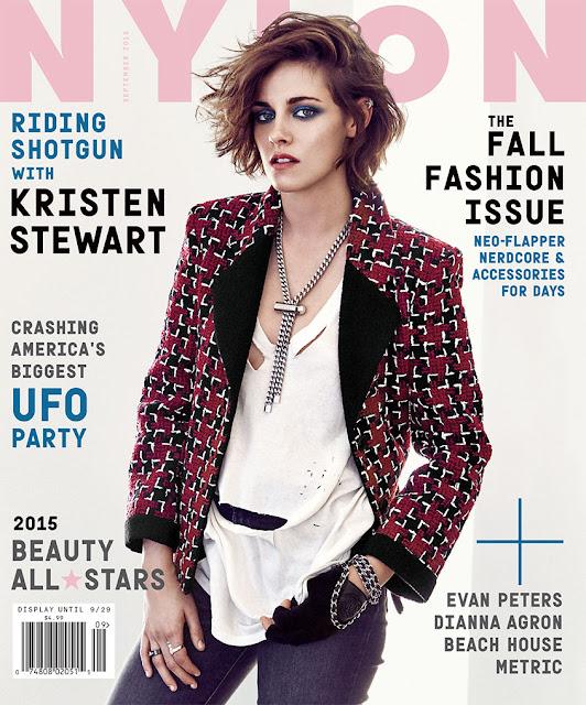 Actress @ Kristen Stewart - Nylon, September 2015