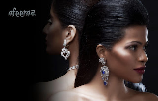 Latest designs of Diamond Jewellery Collection by Afeeraz