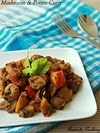 Mushroom And Potato Curry