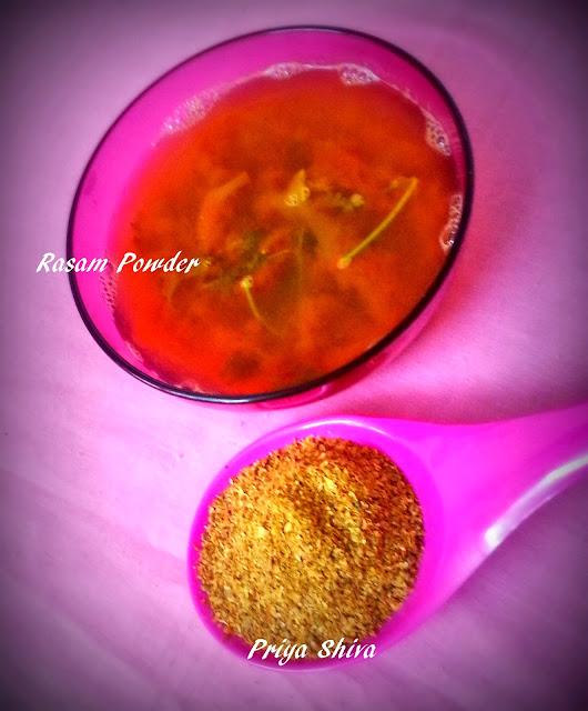 Rasam Powder / Rasam Podi