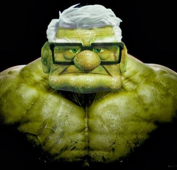 Up vs Hulk
