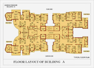 Amrapali Platinum :: Floor Plan