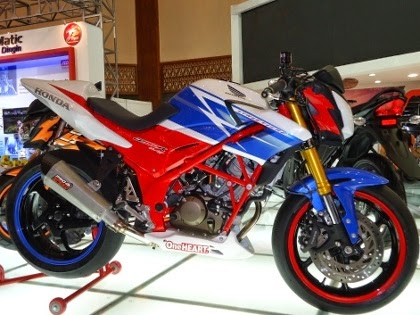 Honda CB150R Street Fighter Terbaru