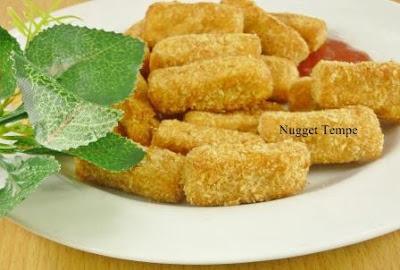 Nugget, Tempe, Nugget tempe, cara membuat nugget tempe, resep nugget, resep nugget tempe