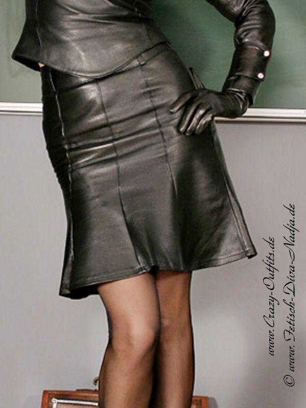 my celebrity nadja crazy leather outfit. Black Bedroom Furniture Sets. Home Design Ideas