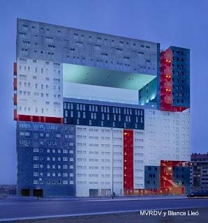 Edificio residencial El Mirador en Madrid, España