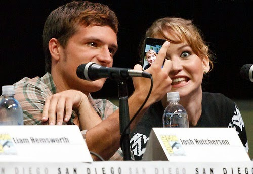 Josh Hutcherson Jennifer Lawrence funny