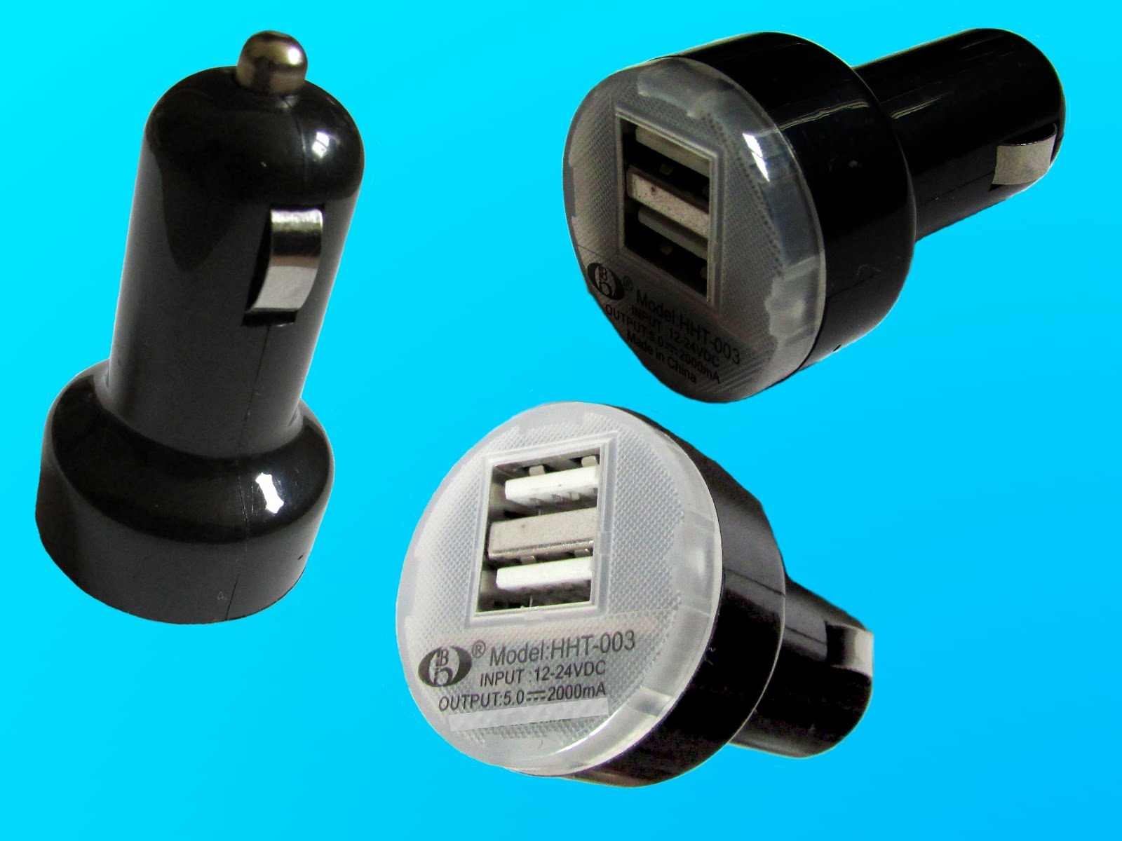 High Quality Auto Universal Dual USB Car Charger