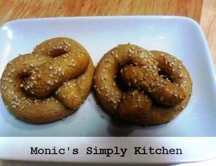 resep soft pretzel oatmeal praktis