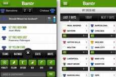 Bantr - Red social de futbol para iPhone