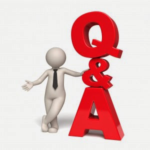 Picture of a Question and Answer clipart