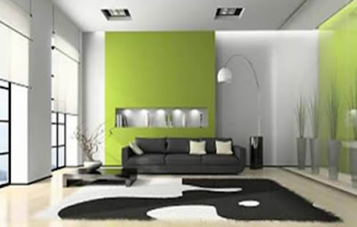 Minimalist Living Design Green