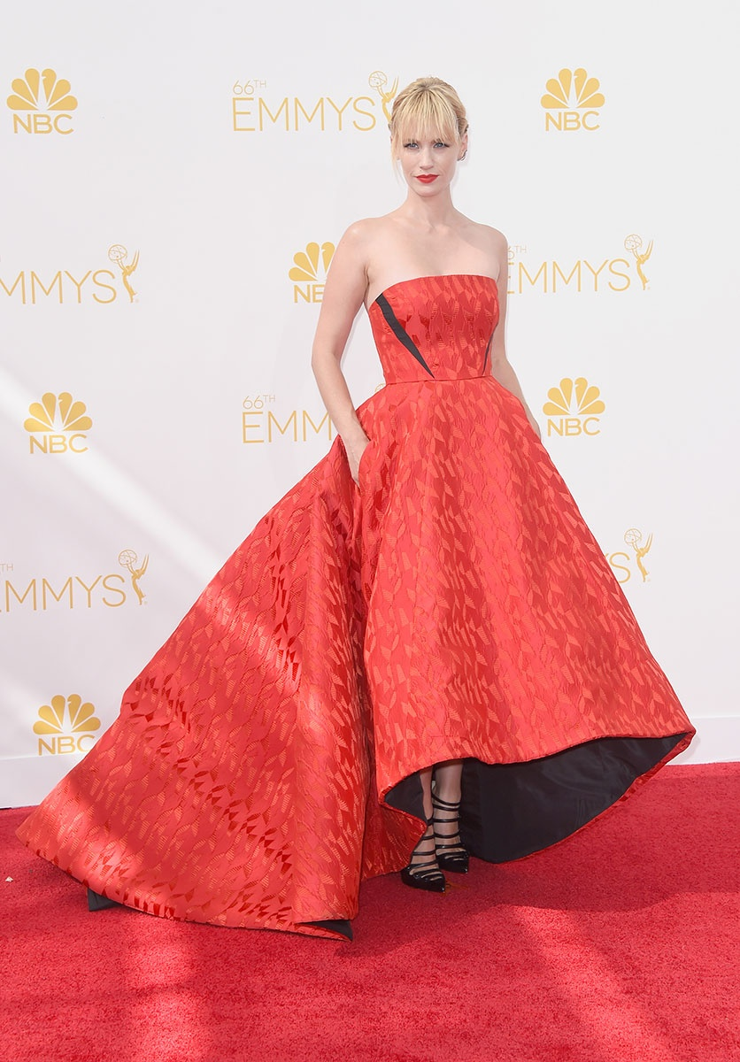 January Jones in Prabal Gurung at the Emmy Awards