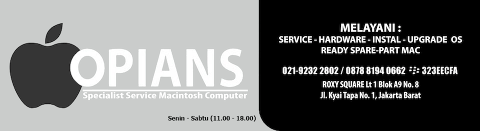 OPIANS - Service Mac  - MacBook  -