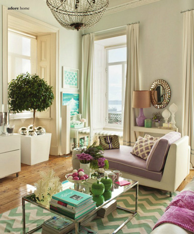 Belle maison home tour feminine elegance for Belle maison interieur design