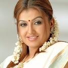 Sona in White Saree  Cute Photos