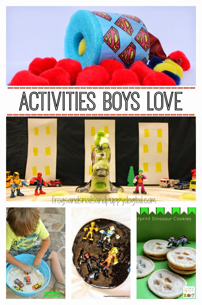 Activities boys love for Boys arts and crafts