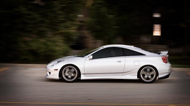 Toyota Celica T230, ciekawe coupe, fajny design, samochody, ZZT231