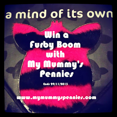 Win a Furby Boom with www.mymummyspennies.com