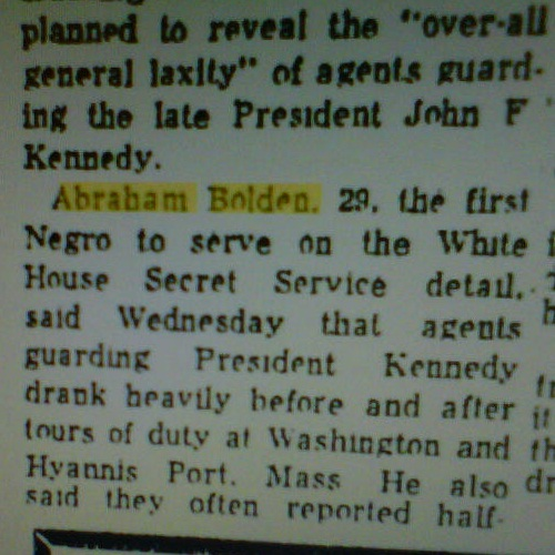 """Spokane Daily Chronicle"" 5/21/64: ABE WAS CORRECT- their was a proven pattern"