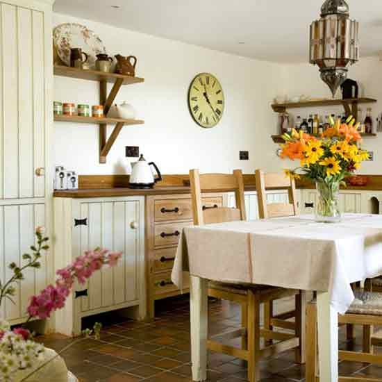 Small Country Kitchen Decorating