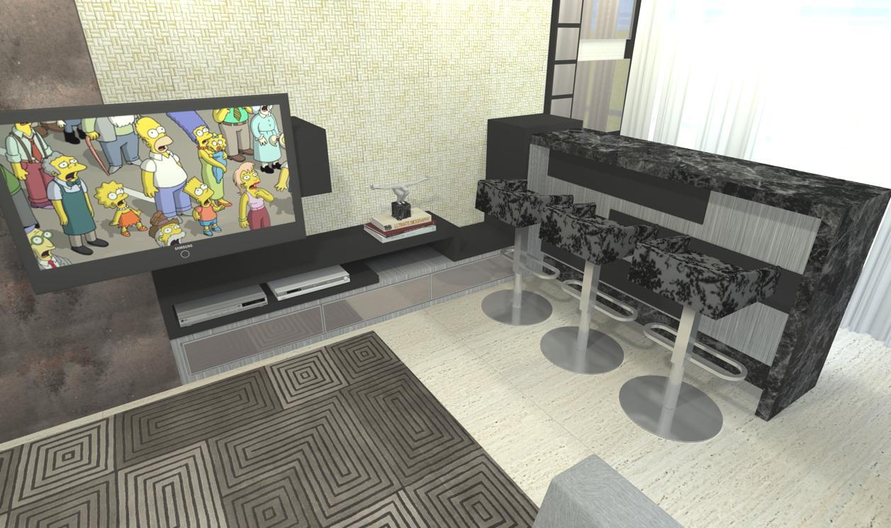 Sekai Projetos e Interiores Estudo sala conjugada e suites ~ Quarto Tematico Japones