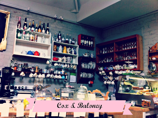 Cox & Baloney tearoom, Bristol