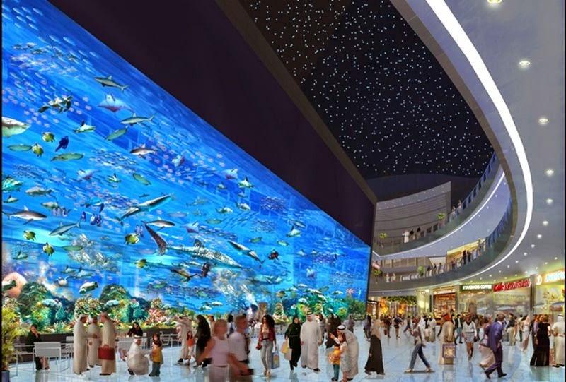 Dubai acuario