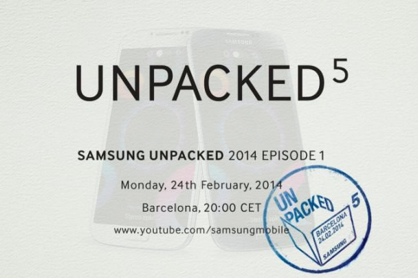 Samsung Galaxy S5 coming out on Feb 24, 2014 at MWC Barcelona