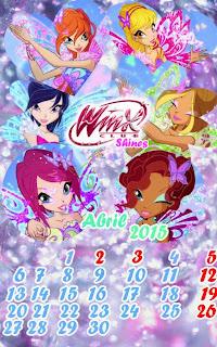 ¡Calendario de Abril 2015!
