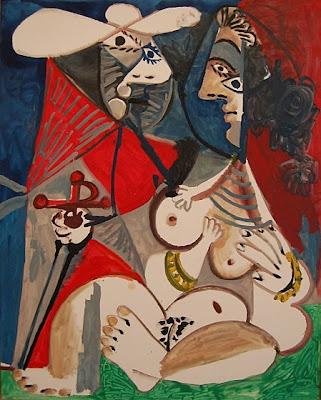 Picasso-Matador-et-femme-nue-1970