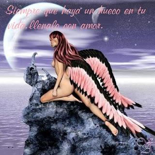 Angel amor frase