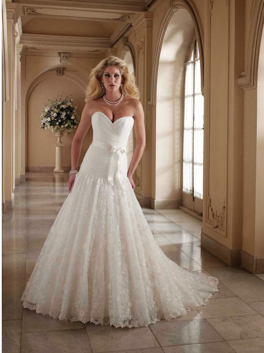 Lace Ball Gown Wedding Dresses Photos HD Concepts Ideas