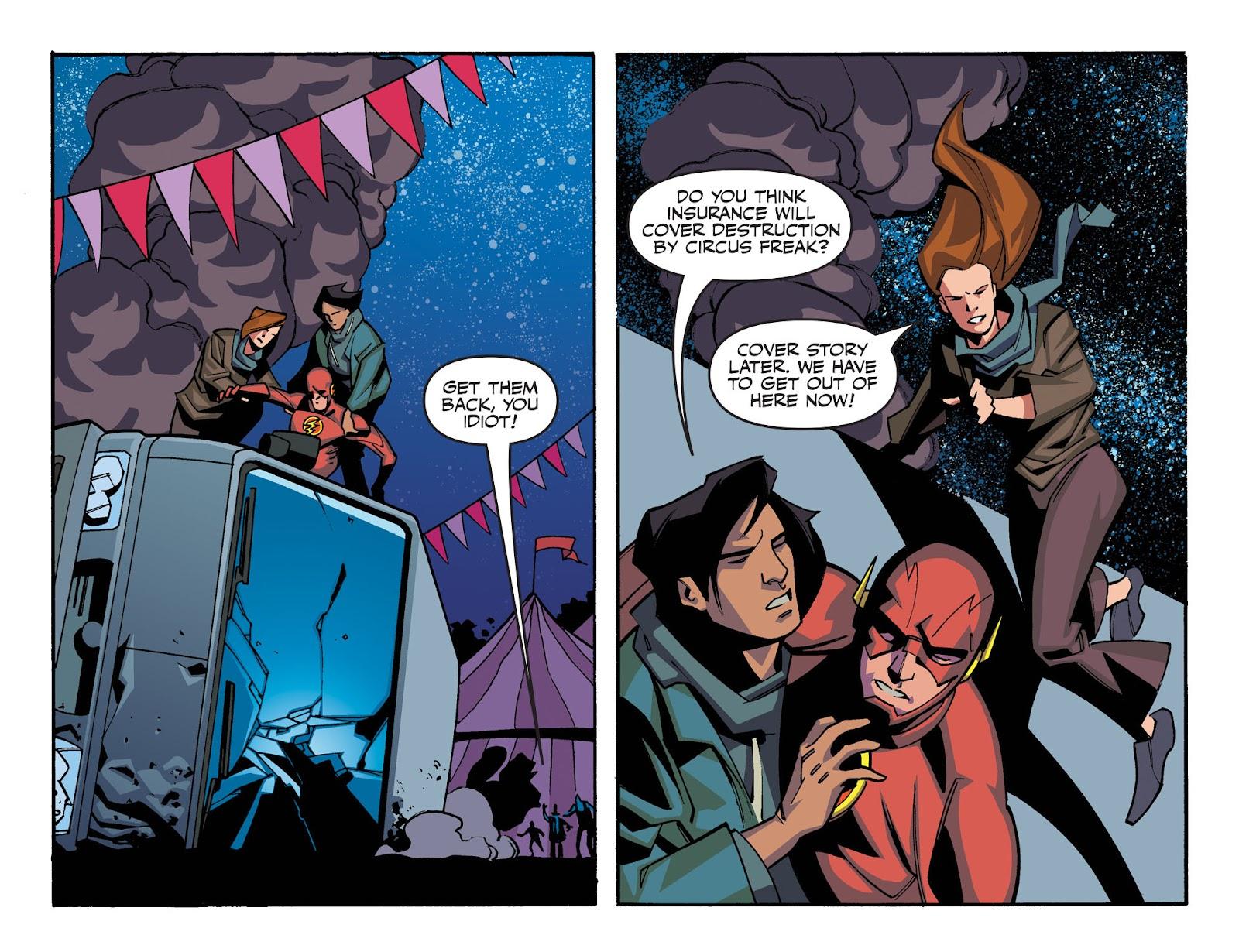 The Flash: Season Zero [I] Issue #6 #6 - English 11