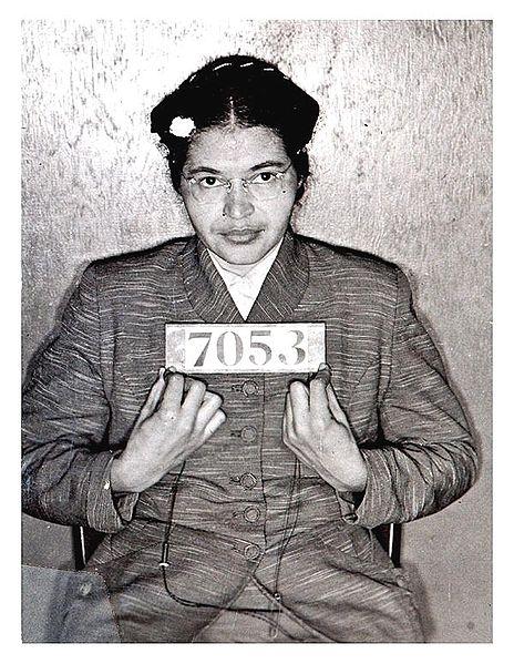 Resultat d'imatges de Rosa Parks