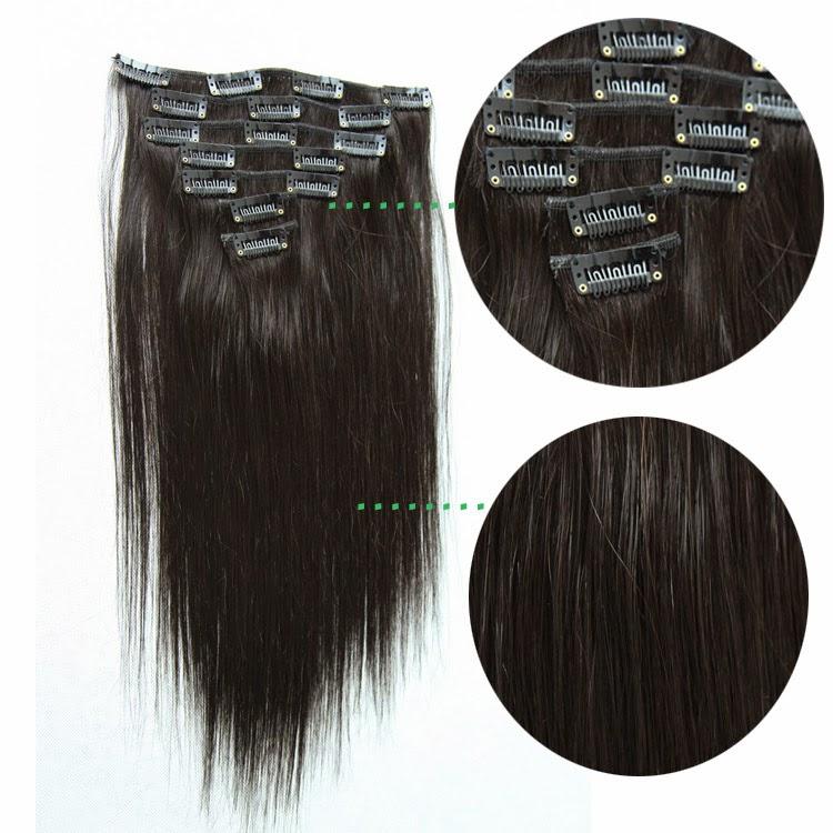 Sina Virgin Hair Weaves Sophia Clip In 100 Brazilian Straight Remy