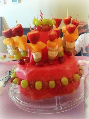 fruit cake birthday