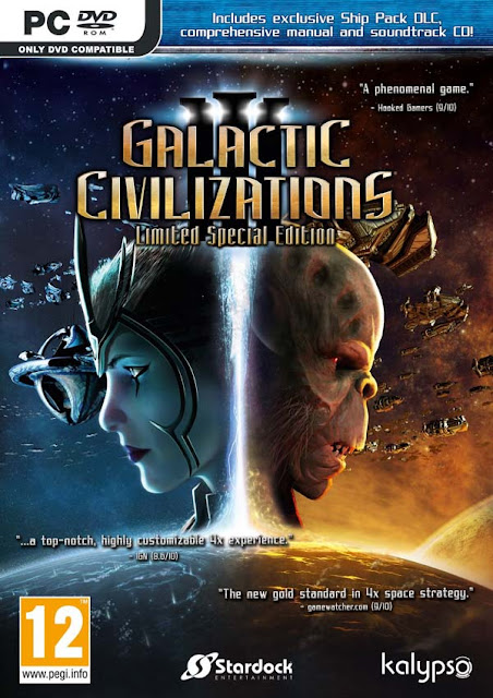 Galactic Civilizations III Download Cover Free Game